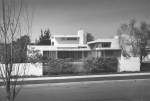 The Buck House as viewed from the east (South Genesee Avenue). Photograph circa 1930s. (Los Angeles City Department of Planning Historical Monuments List: http://cityplanning.lacity.org/complan/HCM/dsp_hcm_result.cfm?community=Wilshire)