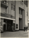 Dominguez Wilshire Building entrance, 5410 Wilshire Boulevard, circa 1931. (Mott-Merge Collection; California State Library.)