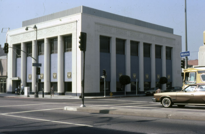 former bank of america building 5505 wilshire boulevard 1978 art deco office building