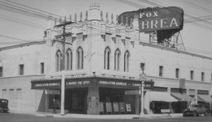Fox La Brea Theatre, circa 1931.