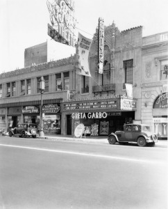 Another view of the Fox Ritz Theatre, circa 1932. (Los Angeles Public Library.)