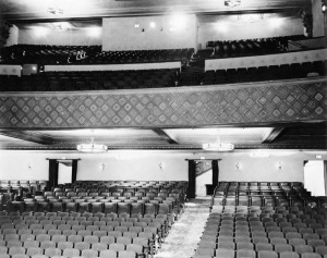 Fox Ritz Theatre auditorium, 1937. (Security Pacific National Bank Collection; Los Angeles Public Library)