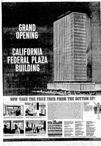 Grand Opening of the California Federal Savings Building, Independent (Long Beach), Feb. 15, 1965.