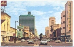 Looking east from Wilshire and Hauser (Circa 1960).