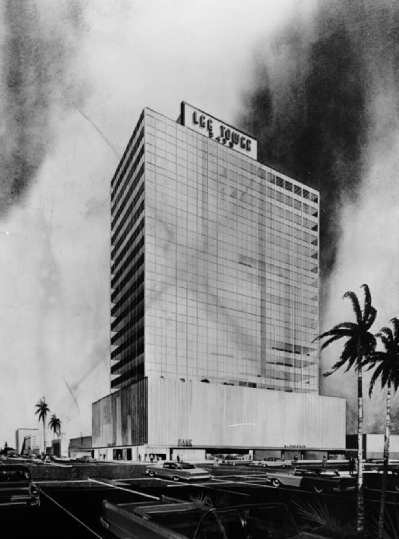 Lee Tower 5455 Wilshire Blvd 1958