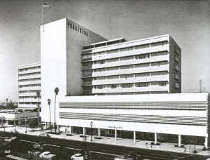 Orbach's original location at Prudential Square, circa 1950. Orbach's later moved to the former Seibu Department Store location (now the Petersen Museum).