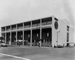 Another view of the Seibu department store at the southeast corner of Wilshire and Fairfax, circa 1962.