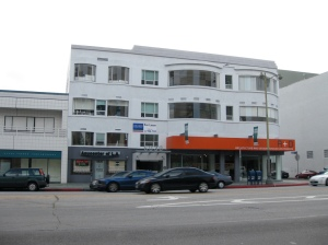 6300 Wilshire, where the A+D Museum is located, was constructed in 1938. This entire block of buildings is slated for demolition to make way for the Wilshire/Fairfax subway station.