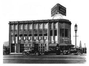 Another view of the Western Auto Supply, circa 1930. (Los Angeles Conservancy)
