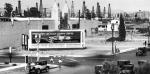 Wilshire Boulevard near Masselin Avenue, circa 1930.
