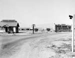 Rogers Airport was created in 1919 as Chaplin Airfield; Emory Rogers purchased the business from Sydney Chaplin and renamed the airfleid. Photograph 1922. (USC Digital Library.)