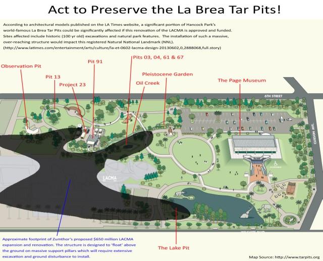 LACMA Tar Pits overlay