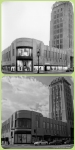 Desmond's Building, circa 1937 & 2013. Top photo: Desmond's building, circa 1937. (Mott-Merge Collection; California State Library.)