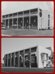 Seibu Department Store, circa 1962/Petersen Automotive Museum, 2013. Located at 6060 Wilshire Boulevard and built in 1962 for the U.S. branch of Japanese department chain store, Seibu, from 1964-1986 it housed Ohrbach's department store. Many years later, Robert E. Petersen, founder of Hot Rod and Motor Trend magazines purchased the building, and along with his wife, Margie, founded the $40 million dollar Petersen Automotive Museum in 1994. The historic building was designed by Welton Becket and Associates.