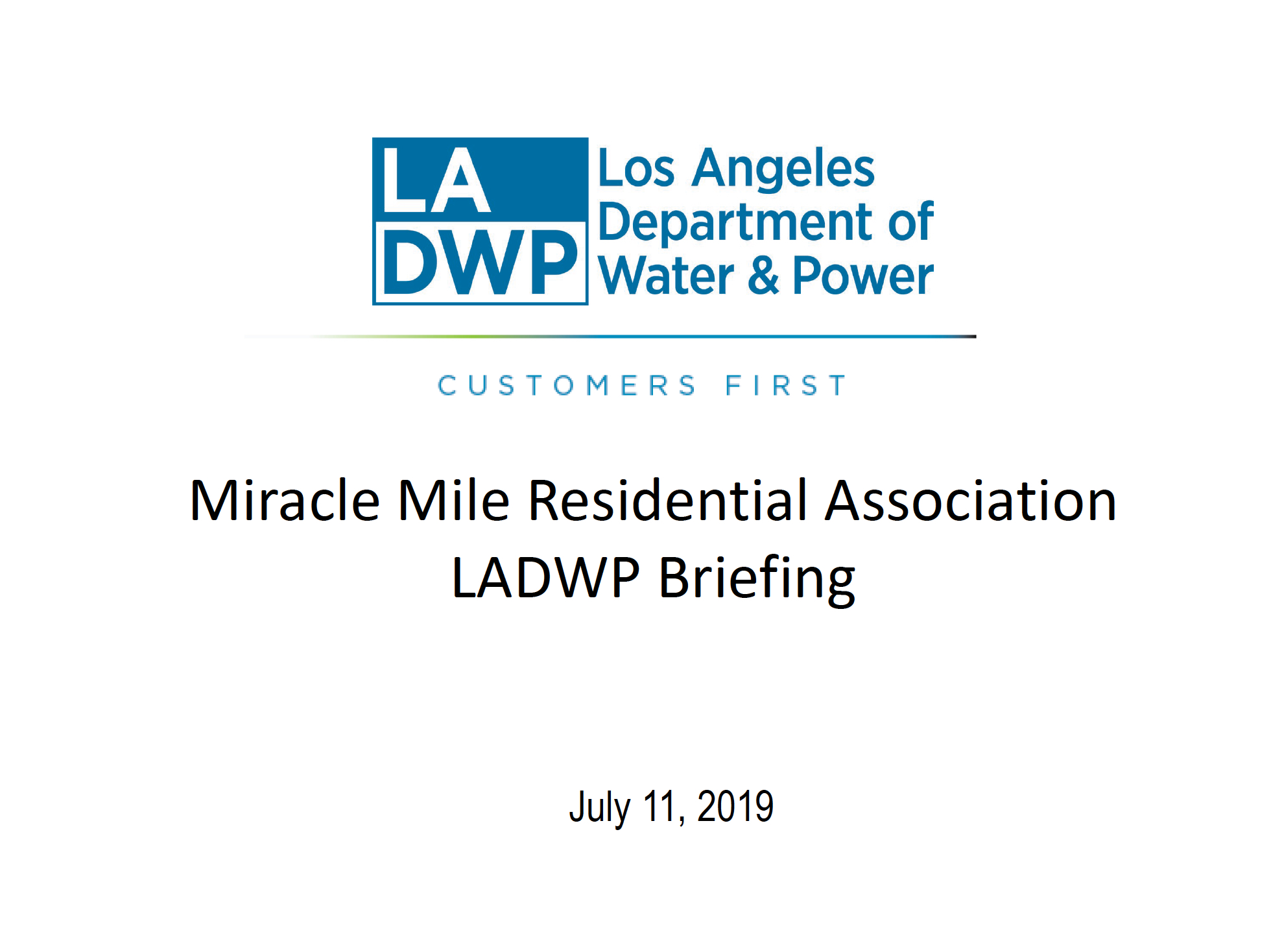 Miracle Mile Residential Association | Preserving the quality of