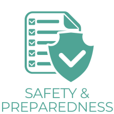 safety and prep graphic